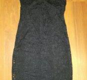 Новое платье из гипюра