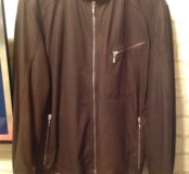 Брендовая мужская кожаная куртка MABRUN