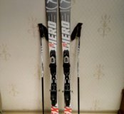 Комплект горных лыж и ботинок Rossignol