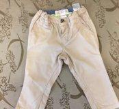Брюки штаны детские H&M размер 74