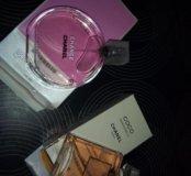Chanel tendre100 ml mademoiselle 50ml