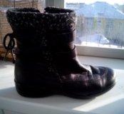 Ботиночки женские зимние