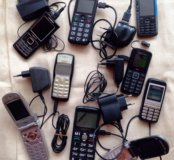 Телефоны на запчасти 9 штук