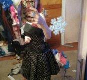 Платье на корсете