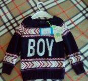Новый свитер babyGo