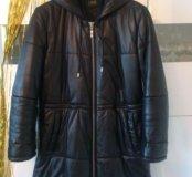 Кожаная тёплая куртка брэнда Orsa