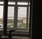 Поворотно -откидная Дверь и глухое окно