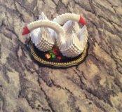 Лебеди на подносе из Жостово