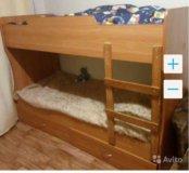 Двух ярусная кроватка