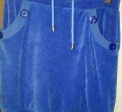 Спортивная юбка на девочку, рост 152