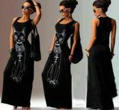 Платье Египетская Кошка