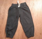 Спортивные синие брюки фирмы George. 3-4 года. Б/У