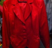 Пиджак новый,атласный