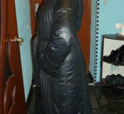 Весенний плащ-пальто на тонком синтепоне .