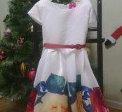 Новые, нарядные платья размер 4-6л, 6-8 л