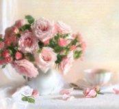 Набор для рукоделия Розы в вазе