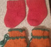 Пинетки.носочки.
