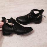Осенние полуботинки сапоги сапожки ботинки