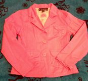 Пиджак для девочки 11 лет