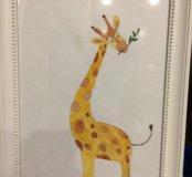 """Постер """"Жирафик"""""""