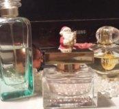 парфюм из личных запасов.