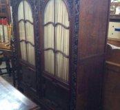Старинный книжный шкаф из Франции