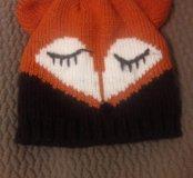 Новая детская шапка-лисичка