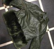 Новая дублёнка-куртка