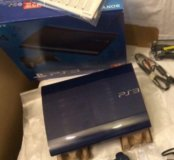 SonyPlastation 3 slim blue