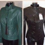 Куртки новые кожаные Турция
