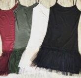 Майка -платье (основа под свитера )