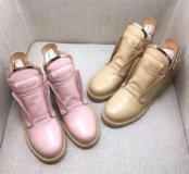 Ботинки Balmain натуральная кожа/замша
