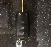 Корпус ключа Volkswagen