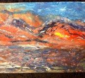 Картина Праздничный вулкан.Стихия огня.