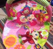 Развивающий коврик Playgro Фея + подвеска