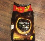 Кофе растворимый Nescafé gold 900 гр