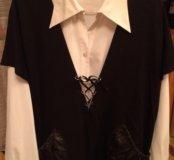Жакет с блузкой