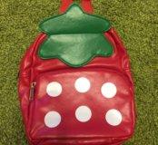 Детский рюкзак клубничка