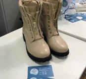 Ботинки Balmain бежевые