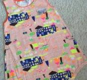 Крутое хлопковое платье