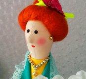 Текстильная кукла Тильда.