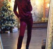 Бархатный костюм 40_42