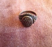 Винтажное кольцо с секретом ( кольцо Борджиа)