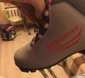 Ботинки лыжные р 36