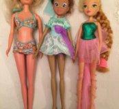 Куклы Винкс и Барби