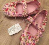 Туфли для девочки Mothercare новые 23 размер