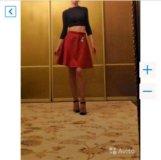 Dolce and Gabbana новая юбка бордовая