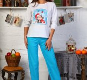 Пижама женская новая 52 размера