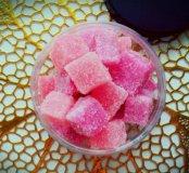 Сахарный скраб для тела.