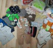 Вещи пакетом с рождения до года
